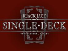 Single Deck Blackjack Professional Series - игровой автомат
