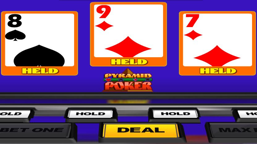 Aces And Faces Poker Pyramid Poker - игровой автомат