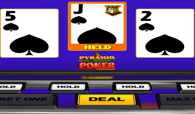 Bonus Deluxe Pyramid Poker - игровой автомат