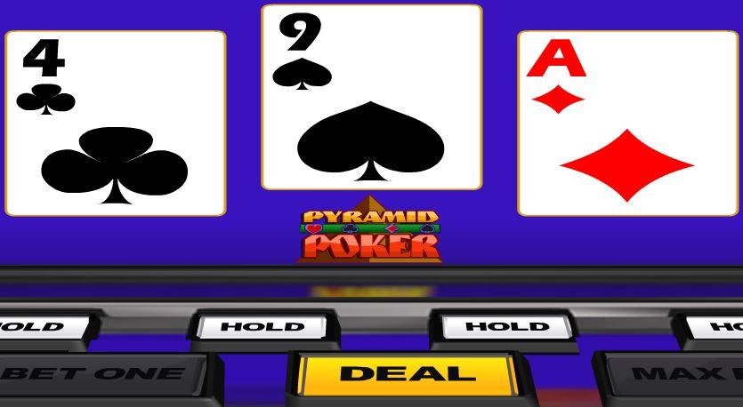 Double Jackpot Poker Pyramid Poker - игровой автомат