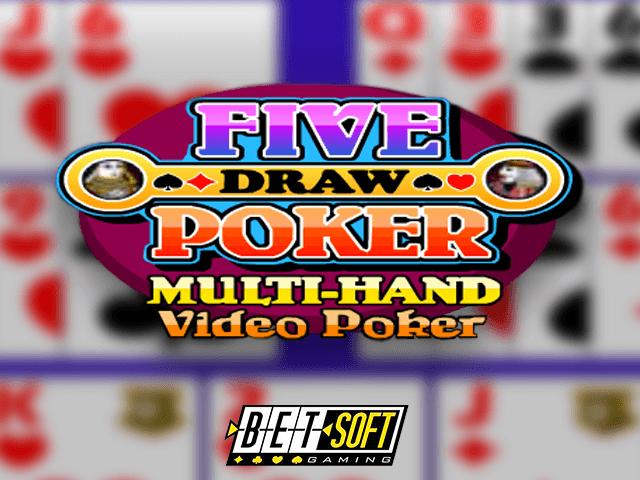 Five Draw Poker Multi-Hand Video Poker - игровой автомат
