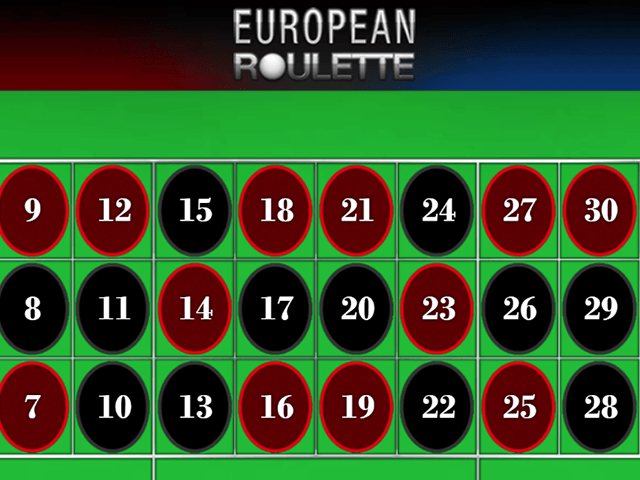 European Roulette - игровой автомат