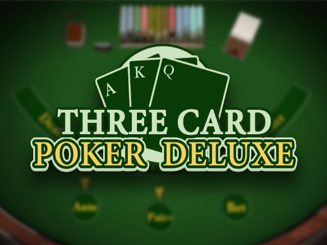 Three Card Poker Deluxe - игровой автомат